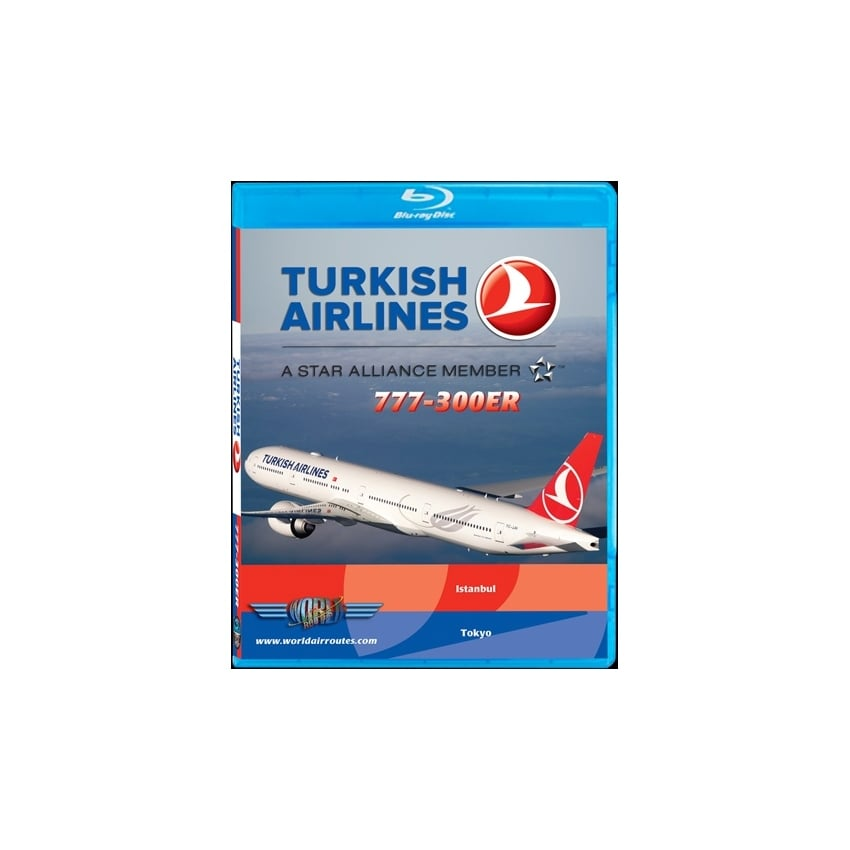 Turkish Airlines 777-300ER Blu-Ray