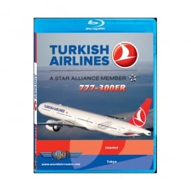Just Planes Turkish Airlines 777-300ER Blu-Ray