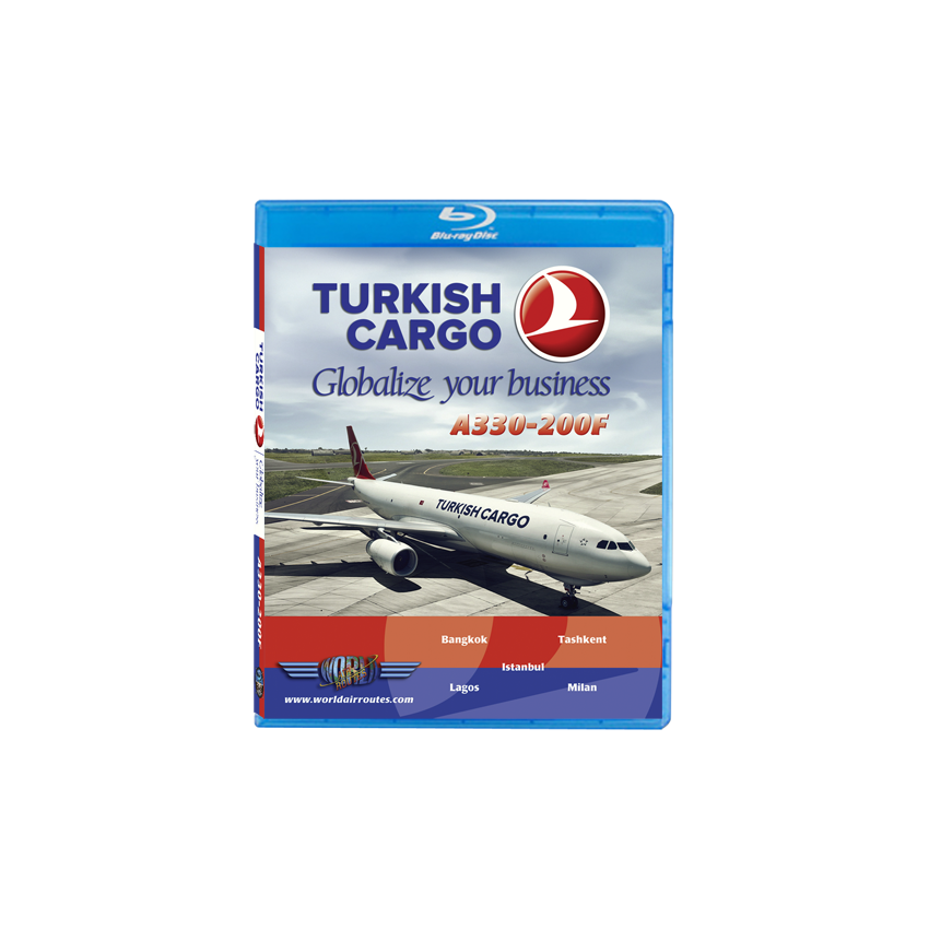 Turkish Airlines A330 Cargo Blu-Ray