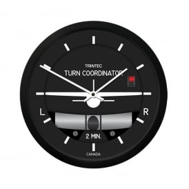 "Trintec Turn & Bank 14"" Wall Clock - 2060 Series"