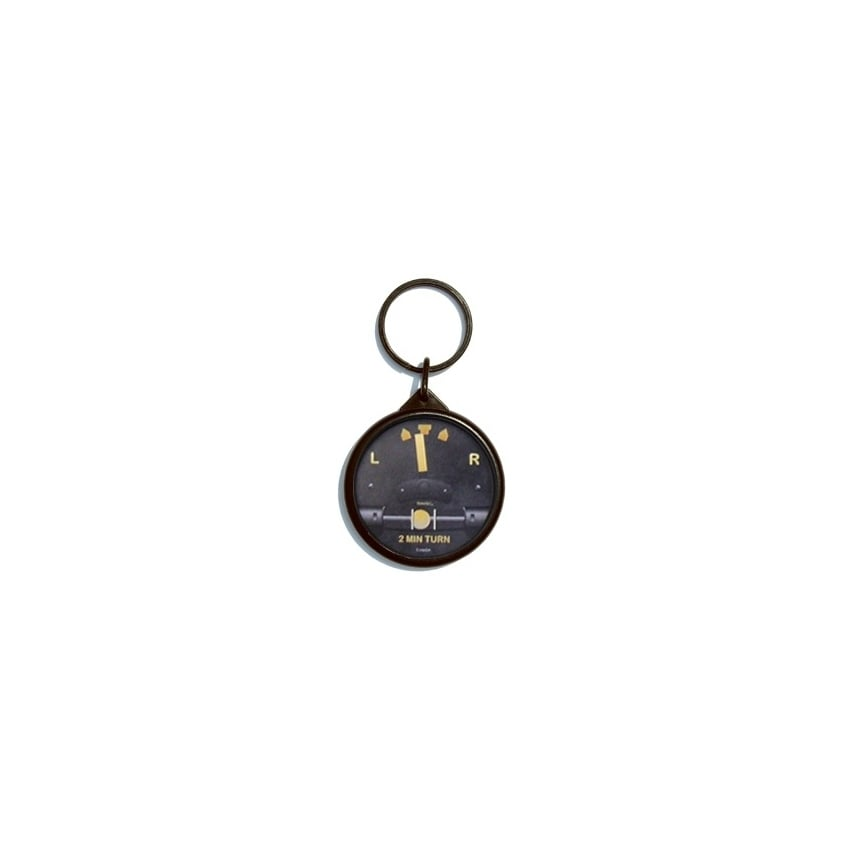 Turn & Bank Keyring - Vintage Series