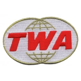 TWA Retro Logo Iron on Patch