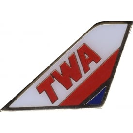 TWA Tail Pin Badge