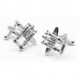 Twin Engine Aircraft Cufflinks
