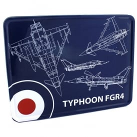 RAF Typhoon Blueprint Storage Tin