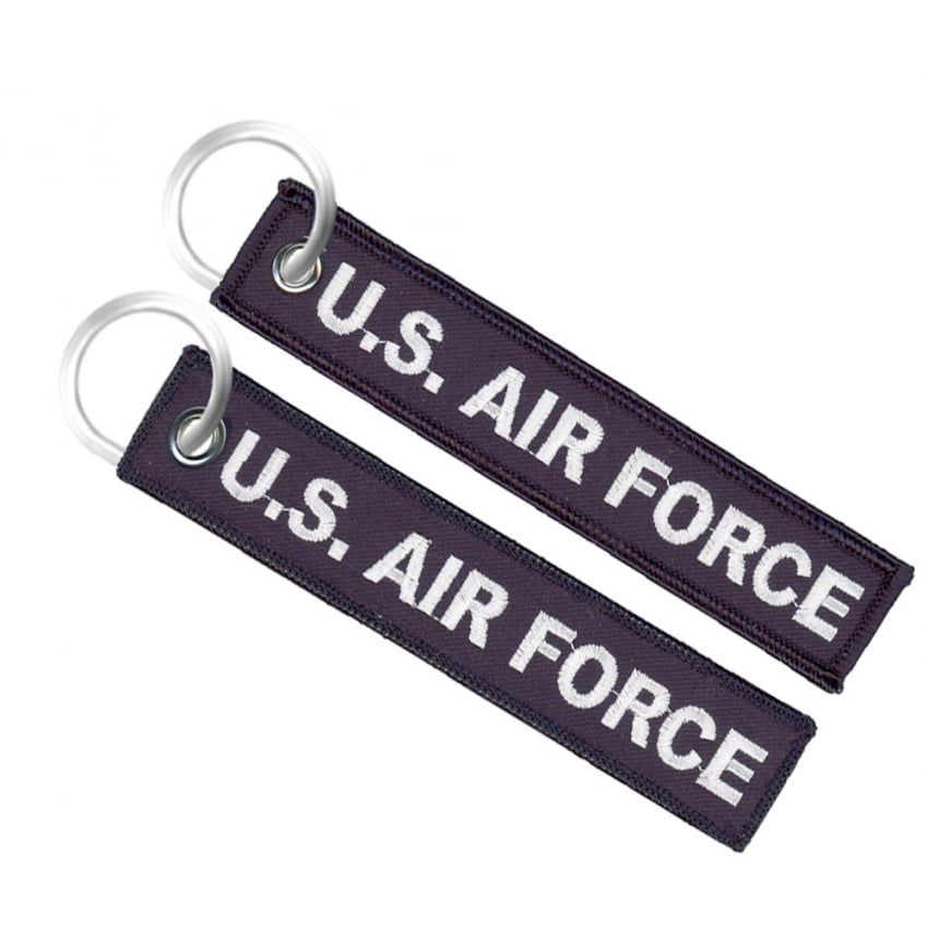 U.S. Air Force Embroidered Keyring