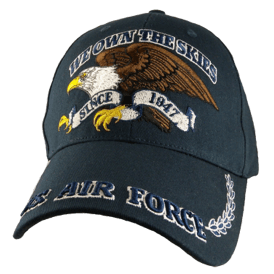 35f07397478 U.S. Air Force We Own The Skies w Eagle Baseball Cap