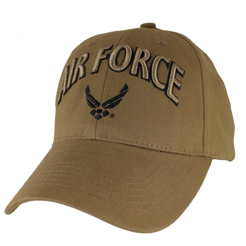 U.S. Air Force Wings Coyote Baseball Cap