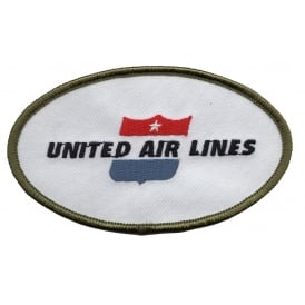 United Airline Logo Iron on Patch