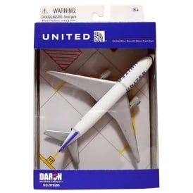 United Airlines Diecast Toy