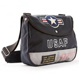 USAF Shoulder Bag - Navy - Last Stock