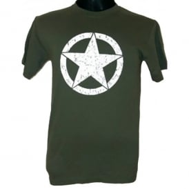 Wooden Model Company USAF White Star T-Shirt