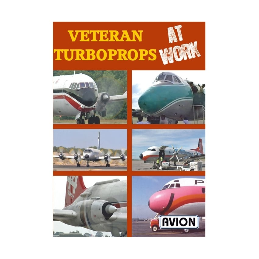 Veteran Turboprops at Work DVD