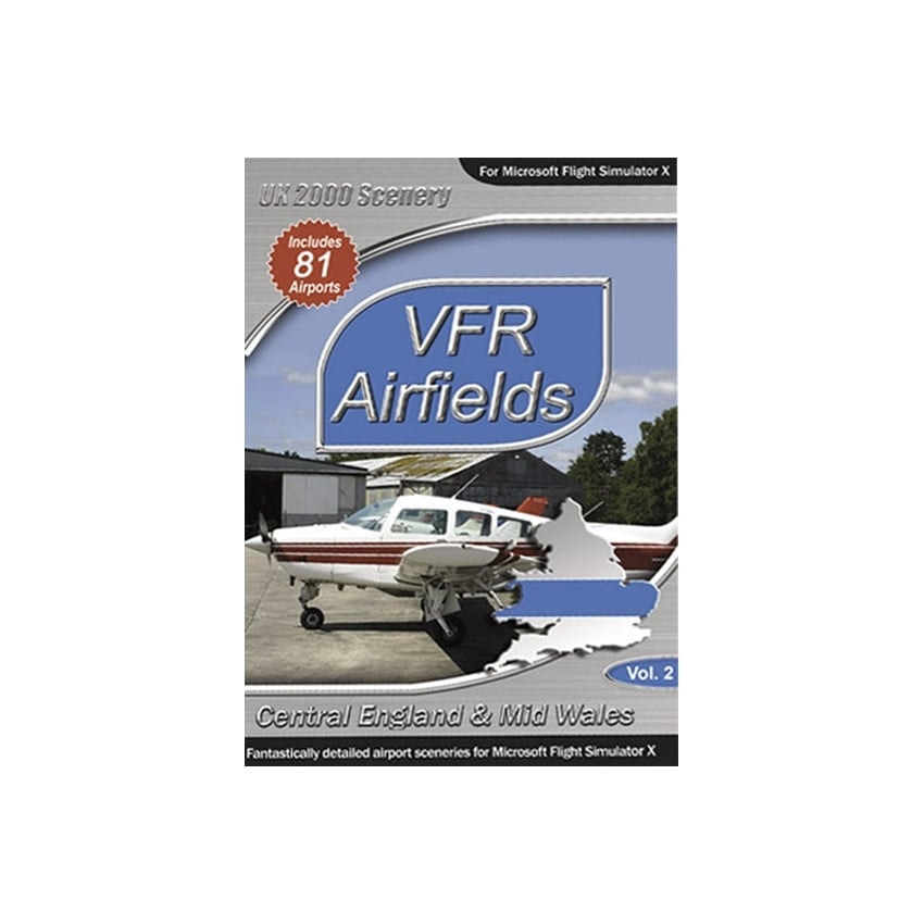 VFR Airfields Central England