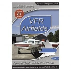 Playsims Publishing VFR Airfields Central England
