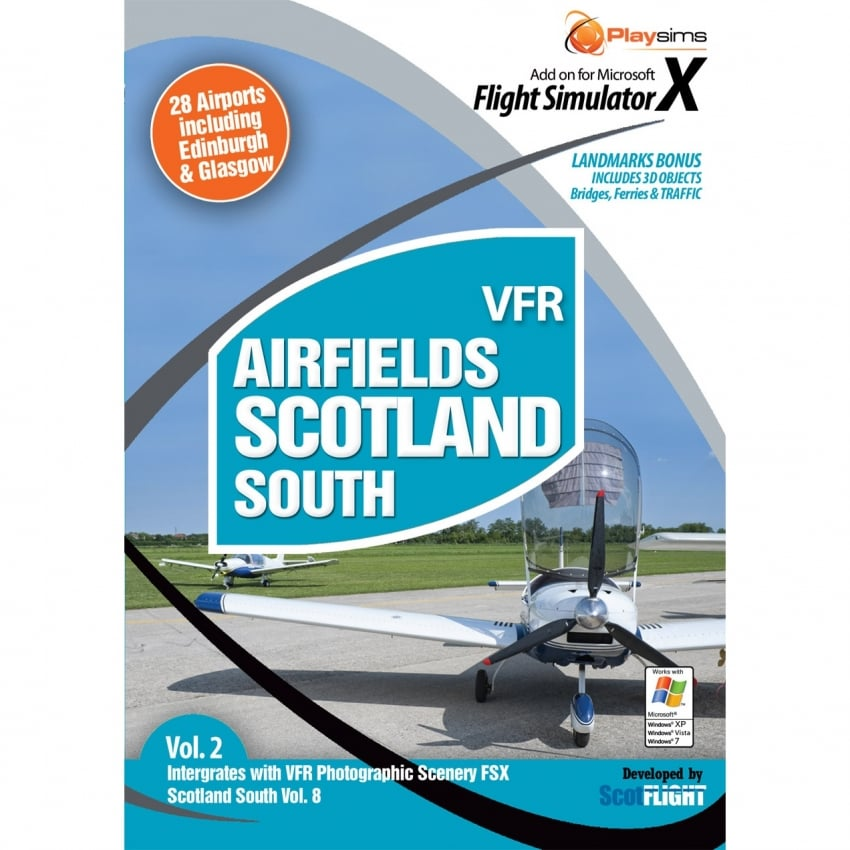 VFR Airfields Scotland South