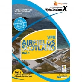 Playsims Publishing VFR Airfields Scotland Western Isles
