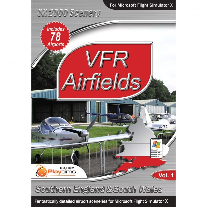 VFR Airfields Southern England