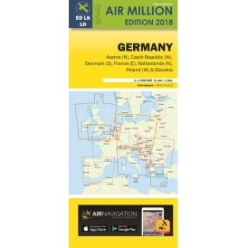 VFR Germany 1:1,000,000 Chart - 2018