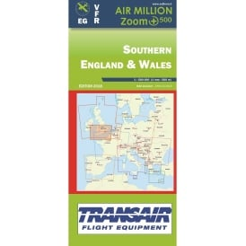 VFR UK Southern England & Wales Zoom 1:1,500 000 chart - 2018