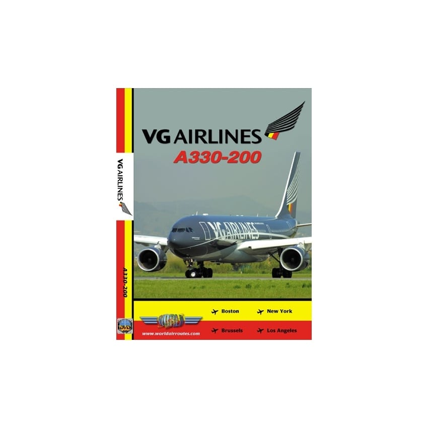 VG Airlines A330-200 DVD
