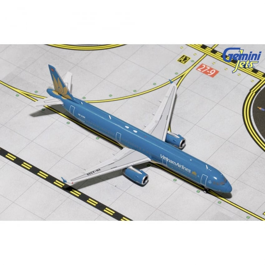 Vietnam Airlines A321-200W Diecast Model - Scale 1:400
