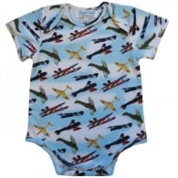Vintage Planes Baby Grow