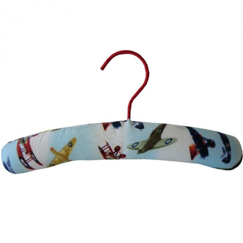 Vintage Planes Childrens Padded Coathangar