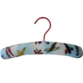 Powell Craft Vintage Planes Childrens Padded Coathangar