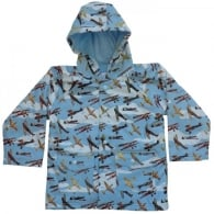 Vintage Planes Childrens Raincoat