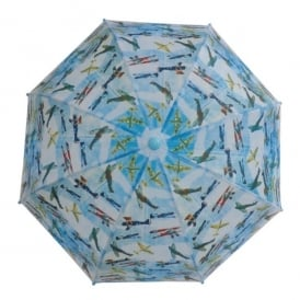 Gifts For Aviators Vintage Planes Childrens Umbrella