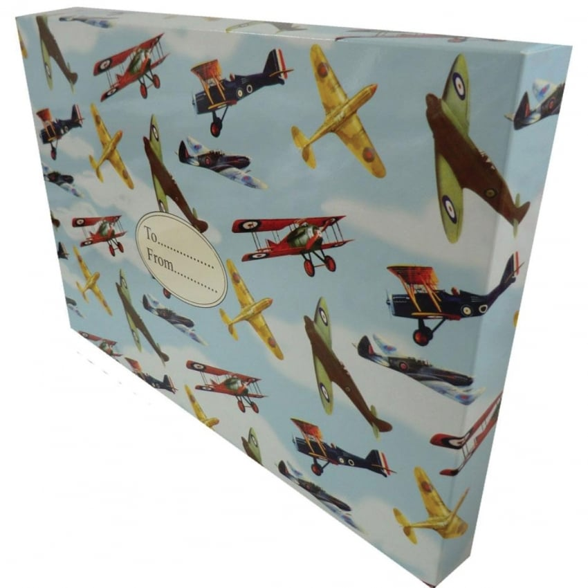 Vintage Planes Small Gift Box