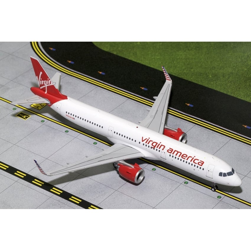 Virgin America A321neo N921VA Diecast Model - Scale 1:200