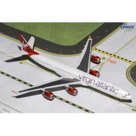 Virgin Atlantic Airbus A340-600 New Livery Diecast Model - Scale 1:400