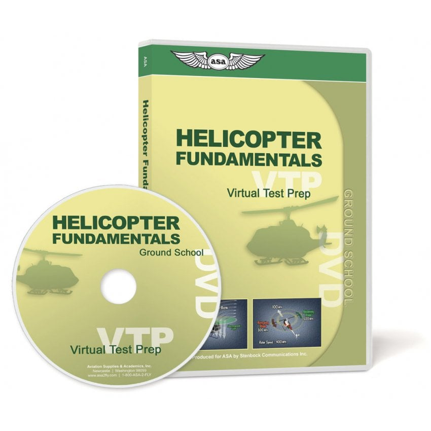 Virtual Test Prep - Helicopters DVD