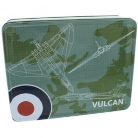 RAF Vulcan Blueprint Storage Tin
