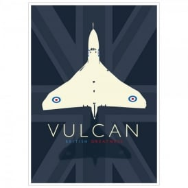 Vulcan British Greatness Poster - A3