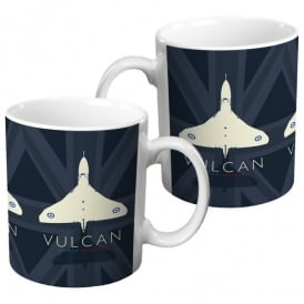 Vulcan British Greatness Union Flag Mug