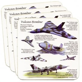 Little Snoring Vulcan Coaster Set of 4