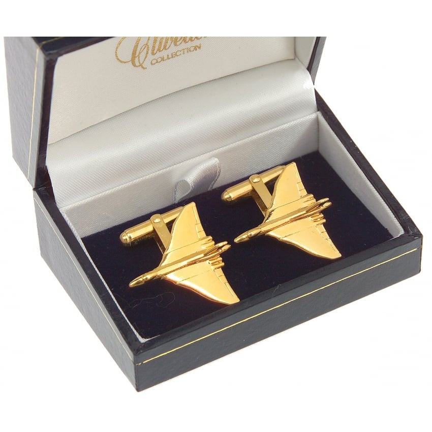 Vulcan Cufflinks - Gold Plated