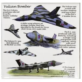 Vulcan Fridge Magnet