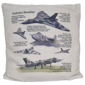 Vulcan Hessian Cream Cushion