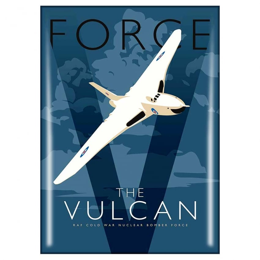Vulcan In the Clouds Fridge Magnet