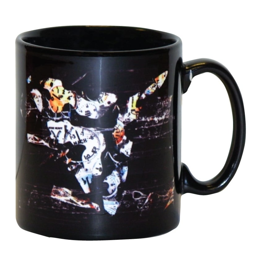 Vulcan Night Sortie Earthenware Mug