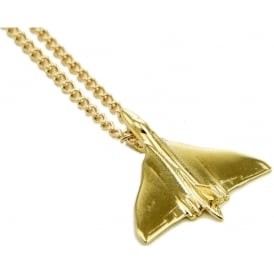 Vulcan Pendant Necklace - Gold
