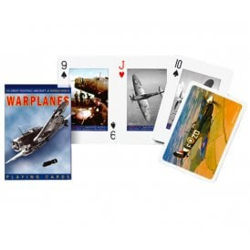 Warplanes Playing Cards