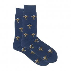 Tie studio Warplanes Socks in Navy