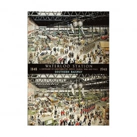 Waterloo Station 1000 Piece Jigsaw
