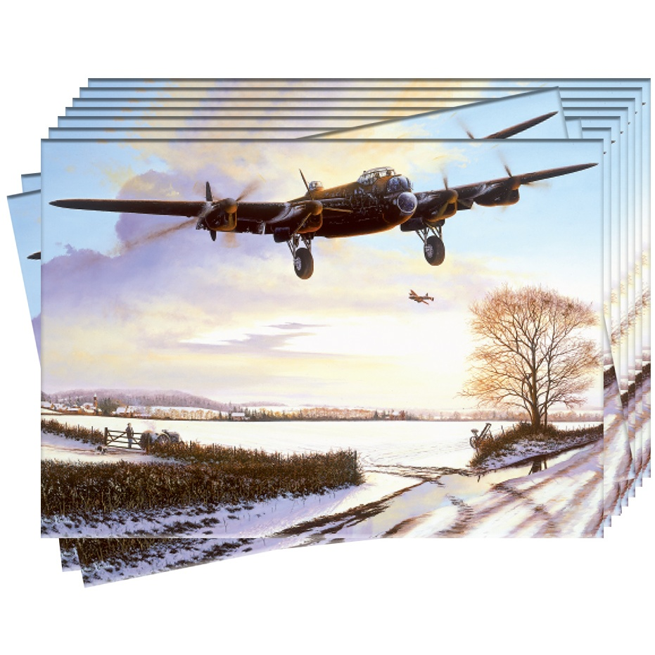 Welcome Home - Aviation Christmas Cards - Pack of 10