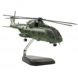 Westland Merlin RAF Helicopter Wooden Model